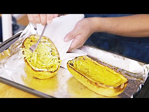 Spaghetti Squash 3 Different Ways!