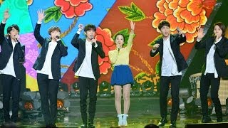 "B1A4 & Song Sohee - ""Milyang Arirang"" & ""When You Go to L.A., Send Me a Letter"""