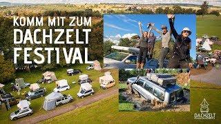 Komm mit zum DACHZELT FESTIVAL 2018!