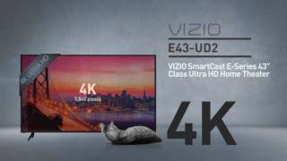 "All-New 2016 VIZIO E43u-D2 SmartCast™ E-Series 43"" Class Ultra HD // Full Specs Review  #VIZIO"