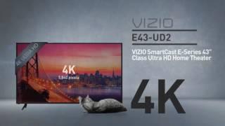 """All-New 2016 VIZIO E43u-D2 SmartCast™ E-Series 43"""" Class Ultra HD // Full Specs Review  #VIZIO"""