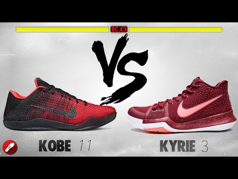 Nike Kobe 11 Elite vs Kyrie 3!