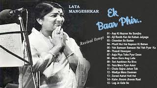 Lata Mangeshkar Ek Baar Phir - Revival Songs...mp3