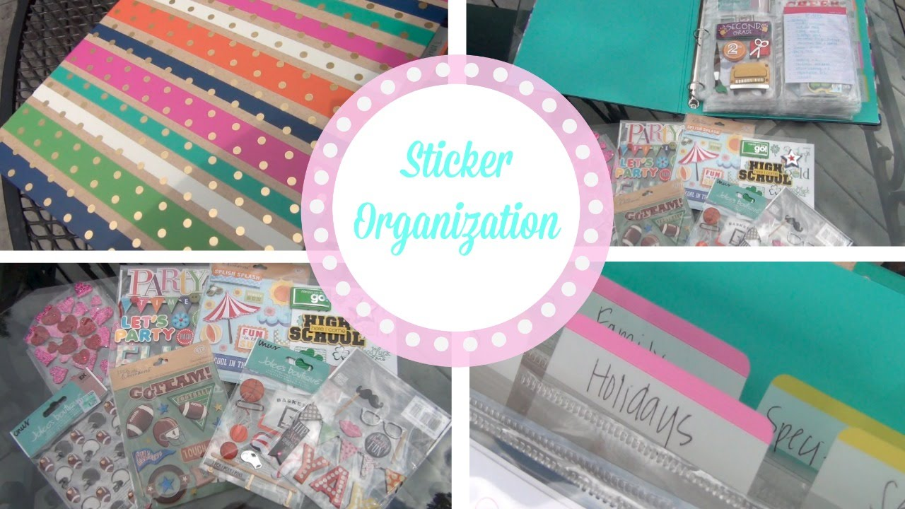 Diy file folder box to organize your stickers youtube - Diy File Folder Box To Organize Your Stickers Youtube 56