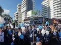 Alumnos de 4to grado prometieron lealtad a la Bandera en la Costanera