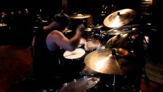 Marthus (Cradle Of Filth Drummer) :: Dusk And Her Embrace (drum clinic 2012)