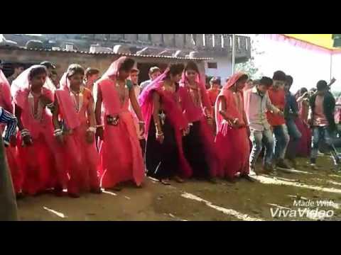 Mp Alirajpur Adivasi New Bhilala Timli Marriage dance video 2017