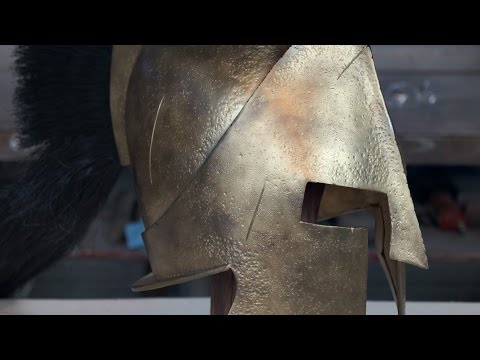 Making The 300 spartan  (King Leonidas) Helmet