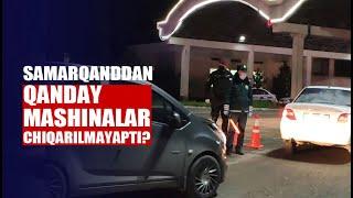Samarqanddagi YPX postlari: bo'shagan bekatlar, tekshiruv va dezinfeksiya