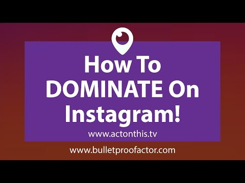 Why ALL ACTORS Need To Get On Instagram NOW!