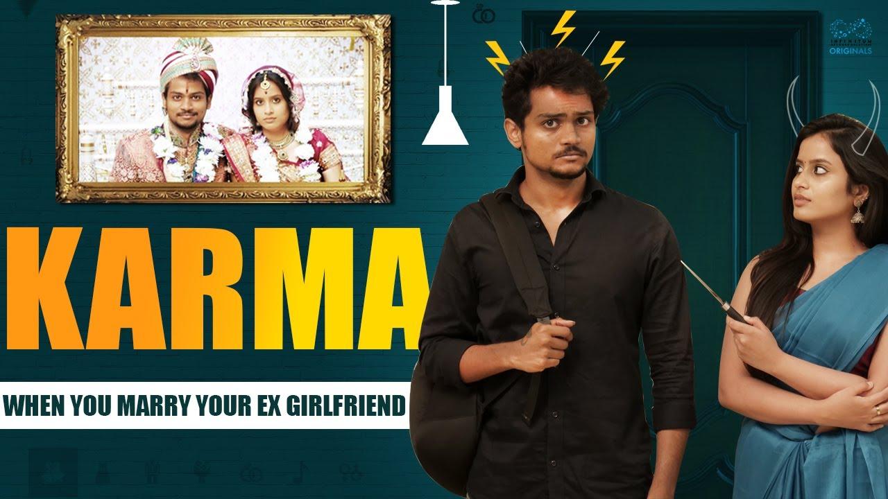 Download KARMA - Marrying Your Ex Girlfriend || Shanmukh Jaswanth Ft. Sheetal Gauthaman || Infinitum Media