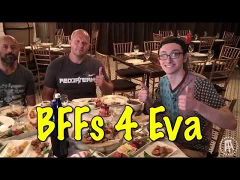 Robbie Fox And MMA Legend Fedor Emelianenko Eat Some Authentic Russian Brunch Together