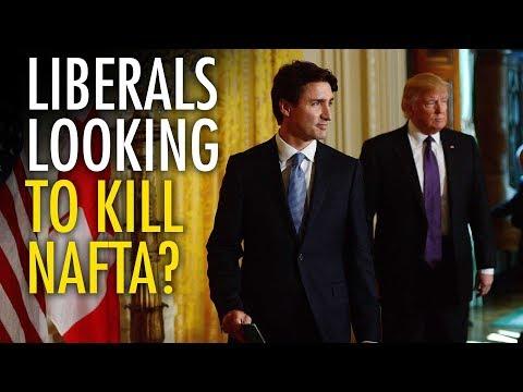 NAFTA: Trudeau secretly planning to end free trade?