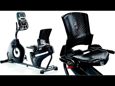 Schwinn 230 Recumbent Exercise Bike With Dual 2-Track LCD Window System For 13 Different Feedbacks