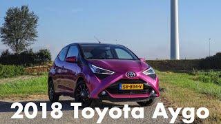 Review: 2018 Toyota Aygo x-cite: Nog steeds de leukste van het stel