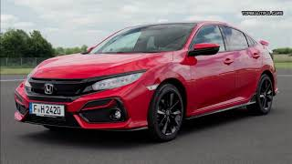 2021 Honda Civic Sport Line Interior Exterior and Drive