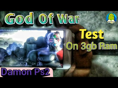 Damon Ps2 Test On 3gb Ram Android || God Of War Test ||