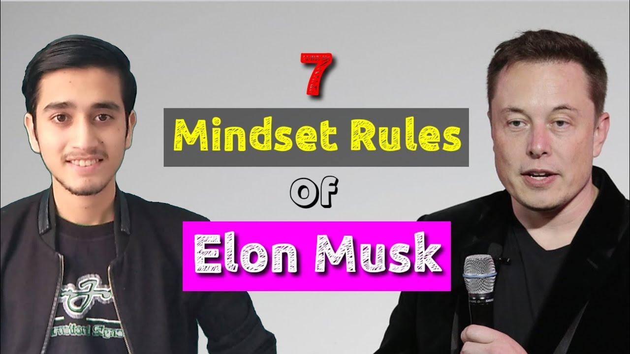 7 Mindset Rules Of Elon Musk || Pradip Basnet ||
