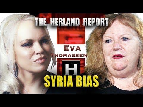 Western support terrorists in Syria - Eva Thomassen, Herland Report TV (HTV)
