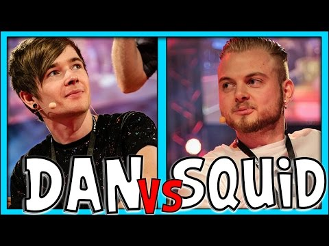 CLASH OF THE CREATORS! Dan TDM Vs iBallisticSquid!