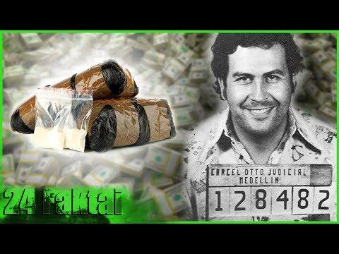 𝟐𝟒 𝐟𝐚𝐤𝐭𝐚𝐢 : Pablo Escobar (Kolumbijos Narkobaronas, Medeljino Kartelio Lyderis)