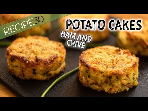 Mashed Potato Cakes Baked In Oven