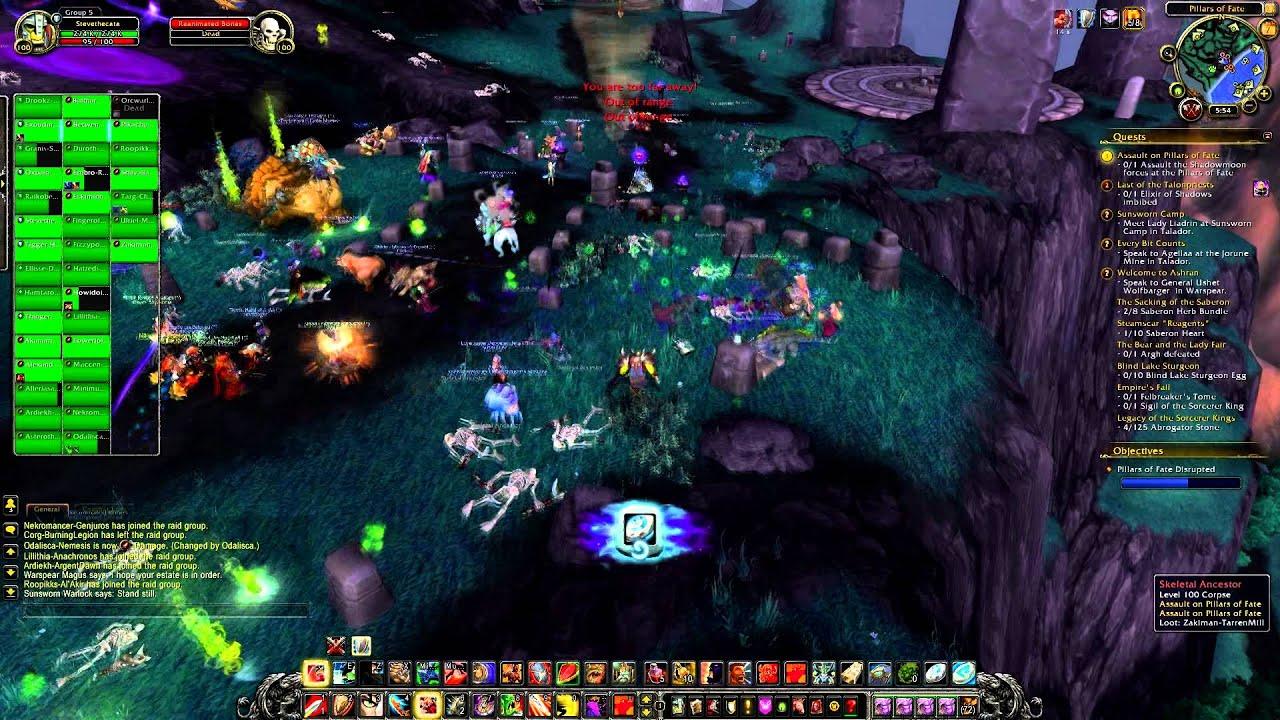 Assault on Pillars of Fate Daily Garrison Quest - YouTube