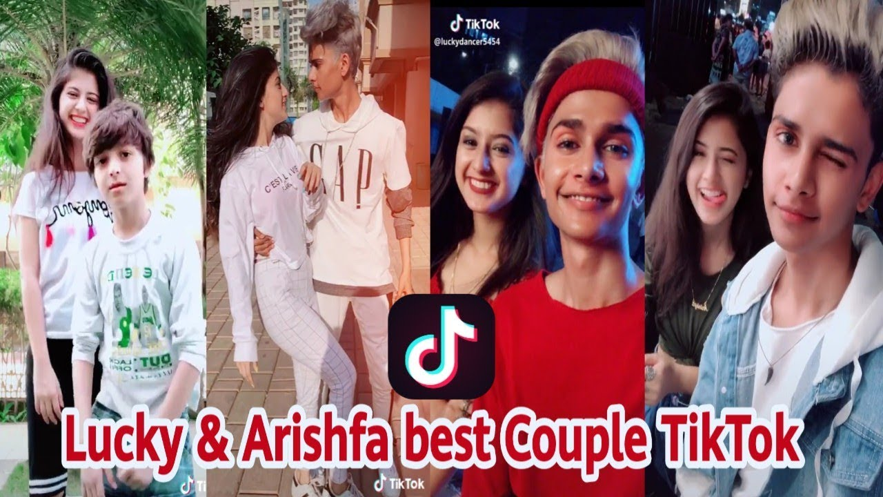 Lucky Dancer & Arishfa khan Best Couple TikTok video | TikTok Trending | Love Couple | Funny Couple #1