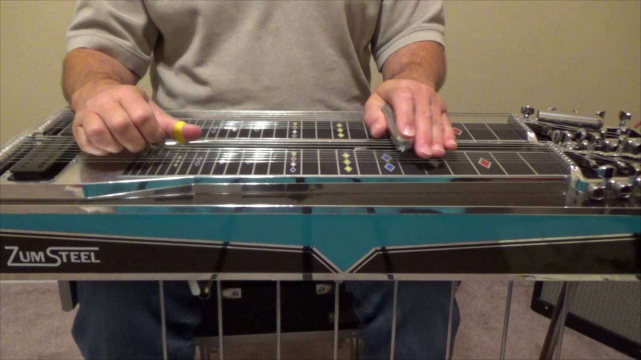 how to play pedal steel guitar youtube