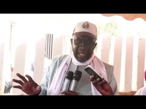 Vidéo: Moustapha Cissé LO « met en garde ceux qui essayerons de perturber les élection…. »