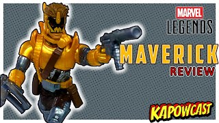 MARVEL LEGENDS MAVERICK | STRONG GUY BAF REVIEW