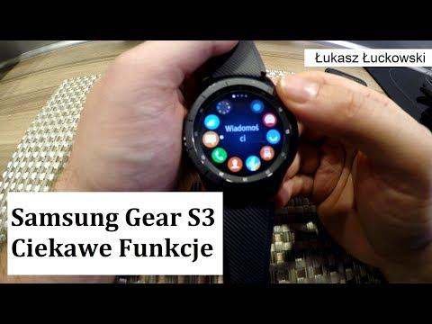 Przydatne funkcje o których nie wiesz  w Samsung Gear S3