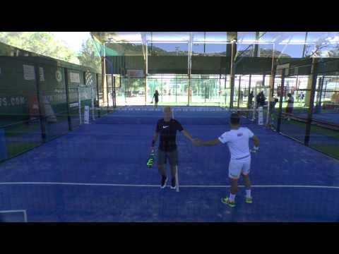 Puyol / Tello Vs Deschamps / Britos - Tennis Padel Soleil