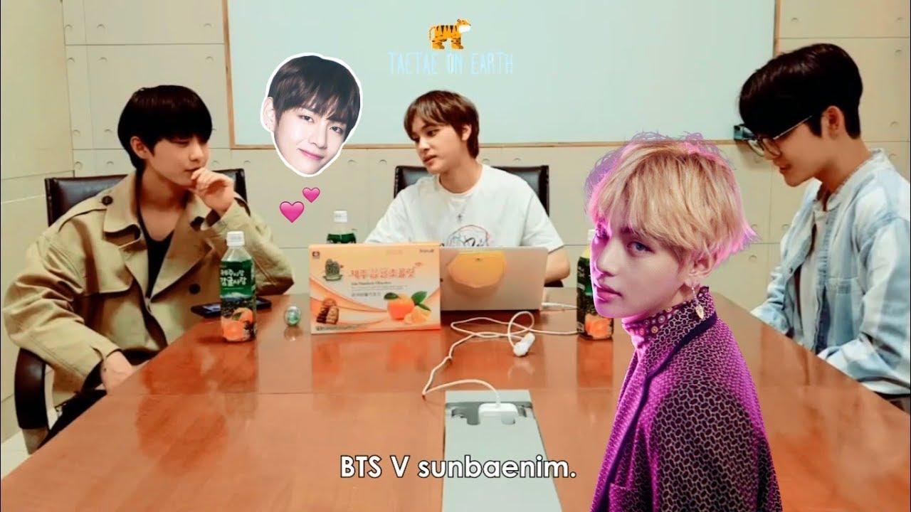 Everybody loves V Taehyung part 35 [Hwall, Minhyun, Yoona, Minho, Pewdiepie, CNN News]