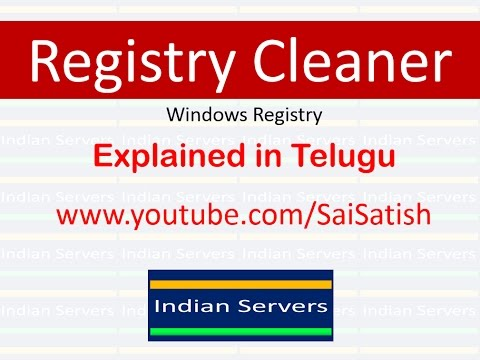 Windows Registry Cleaners. Explained in Telugu