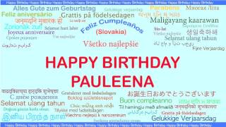 Pauleena   Languages Idiomas - Happy Birthday