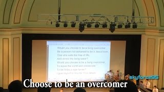 Choose to be an Overcomer - NCT 2015
