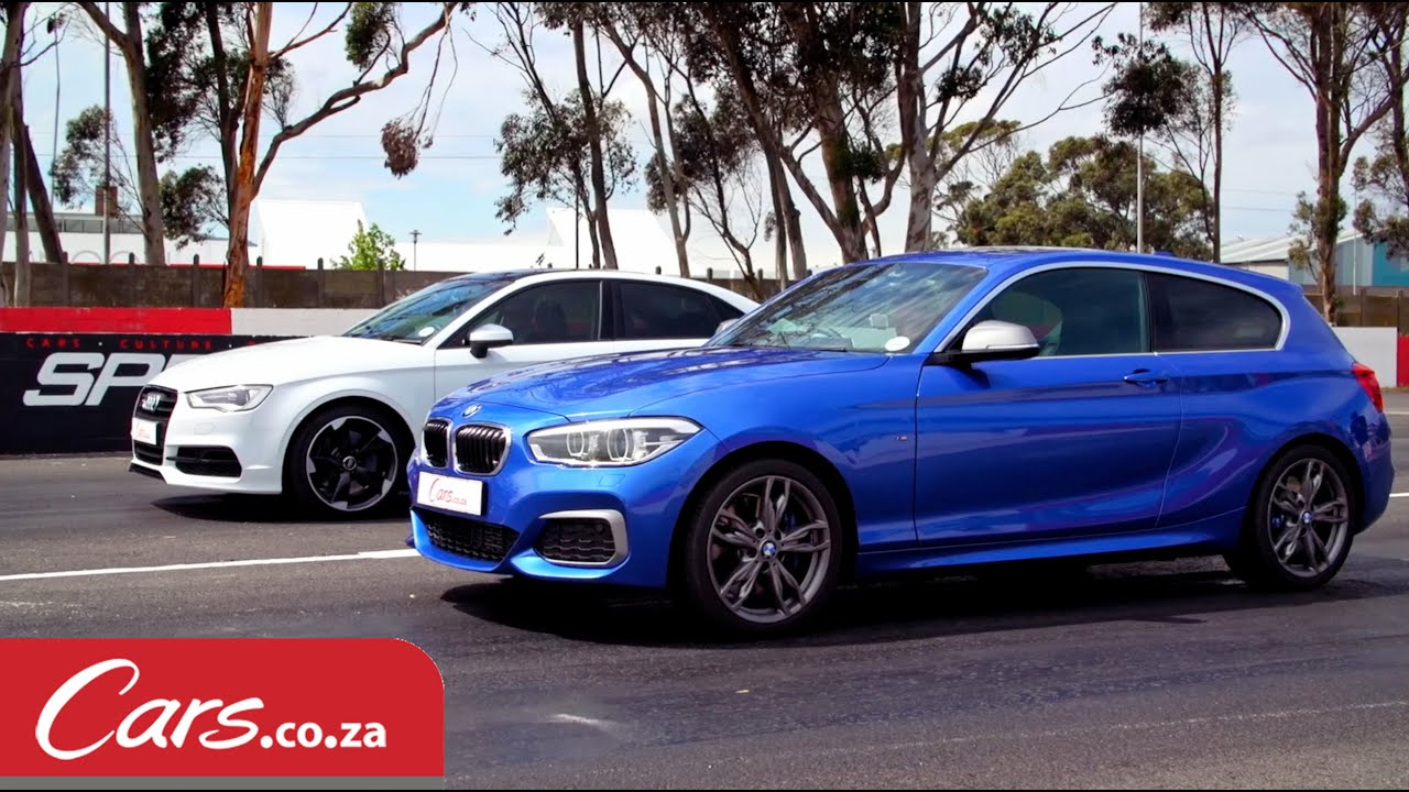 Drag Race BMW M135i vs Audi S3 Sedan
