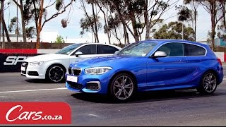 Drag Race: BMW M135i vs Audi S3 Sedan