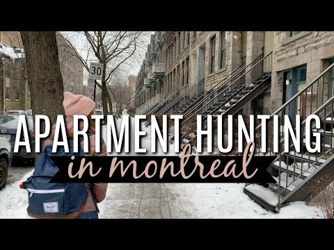 APARTMENT HUNTING IN MONTREAL