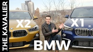 BMW X1 vs X2 Compared (2018)
