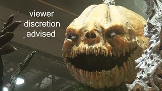 Haunted House & Horror ANIMATRONICS by Scare Factory at IAAPA Expo 2013 - Viewer Discretion Advised