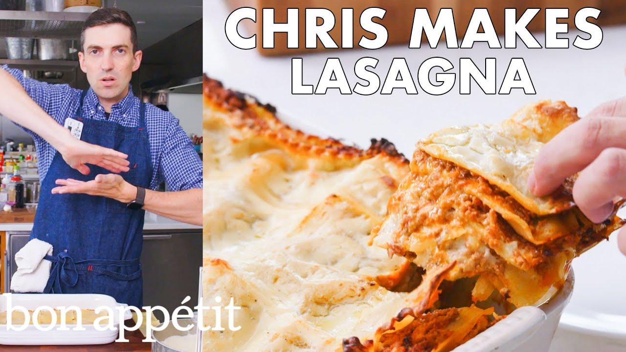 Download Chris Makes BA's Best Lasagna | From the Test Kitchen | Bon Appétit