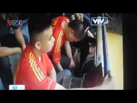 Phóng sự VTV1 về việc tường thuật trực tiếp bóng đá trên Youtube của Namdinhfc.vn