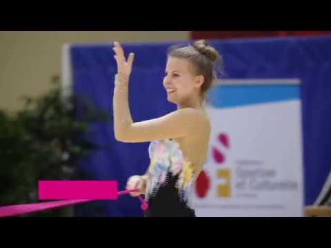 FSCF Gymnastique Rythmique et Sportive - GRS - YouTube 98efb740b58
