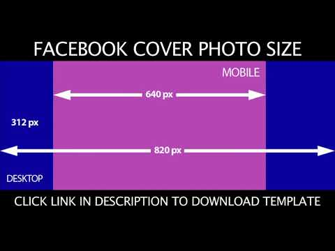 Facebook Cover Photo Size 2020 Complete Facebook Cover Photo Template Youtube