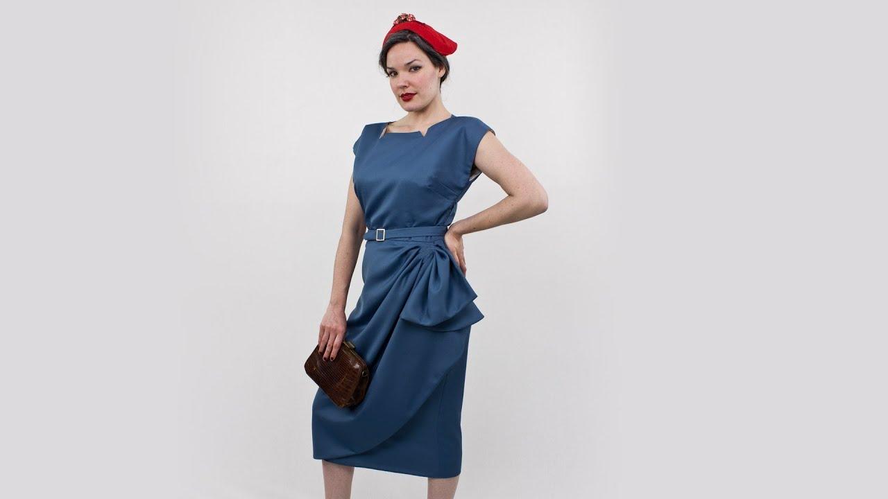 Classy Dame Dress Butterick Pattern 5880 Youtube