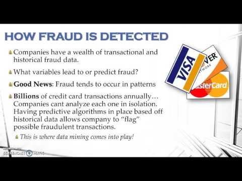 Data Mining Techniques To Prevent Credit Card Fraud