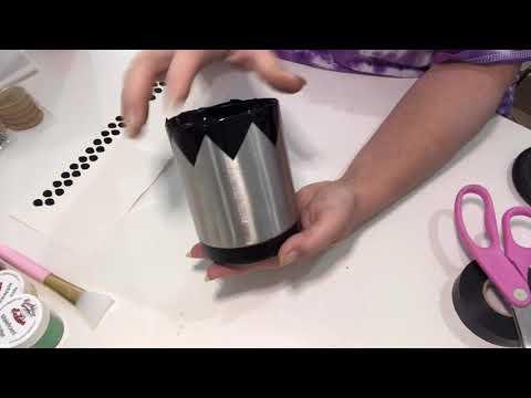 Strawberry Tumbler Tutorial (May VIP Craft Box)