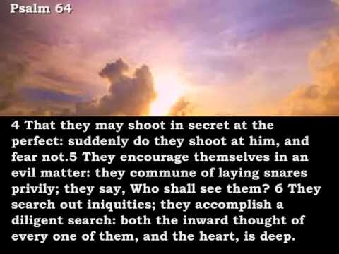Bible Reading Psalm 64